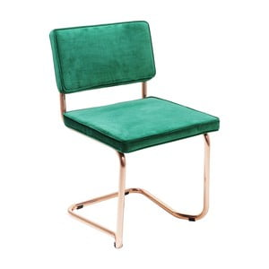 Zielone krzesło Kare Design Cantilever