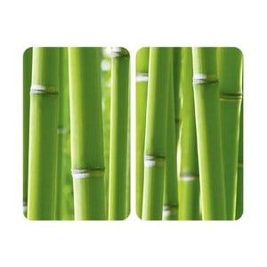 Szklana płyta ochronna Bamboo, 2 sztuki