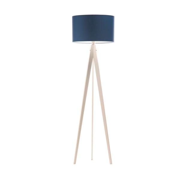 Lampa stojąca Artist Dark Blue/White, 125x42 cm