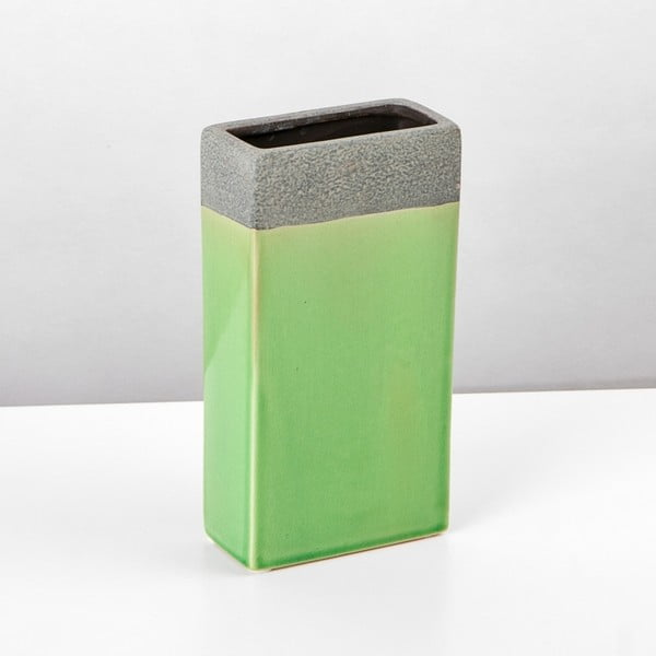 Ceramiczna waza Jungle Mech, 23,5x12,5 cm