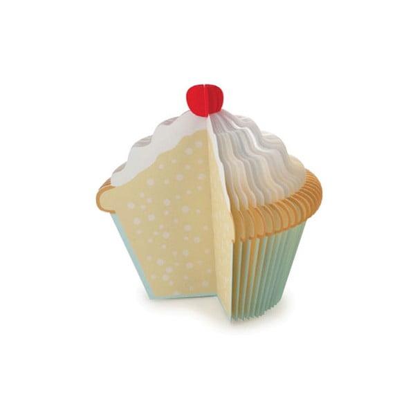 Notatnik w kształcie babeczki Kikkerland Cupcake