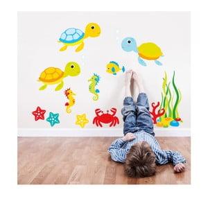 Naklejka Zatoka Żółwi, 90x60 cm