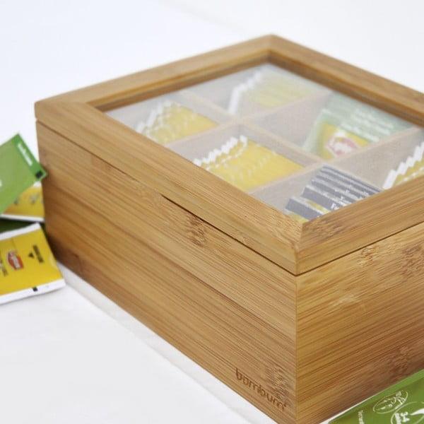 Bambusowe pudełko na herbaty Bambum Misto
