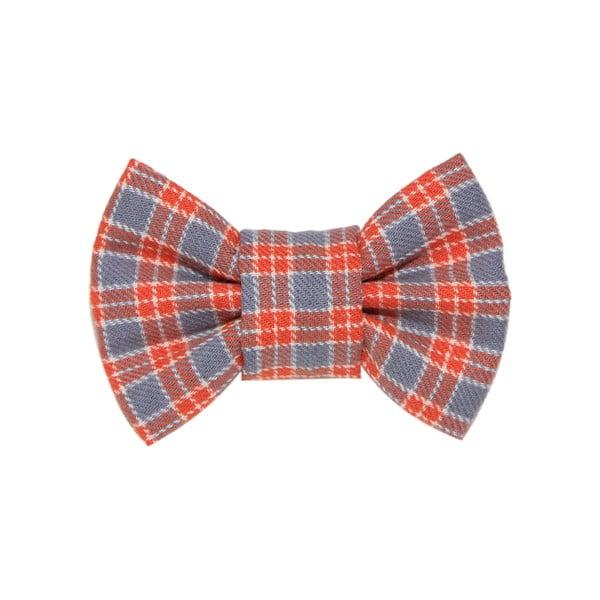 Mucha dla psa Funky Dog Bow Ties, roz. L, w pomarańczową kratkę