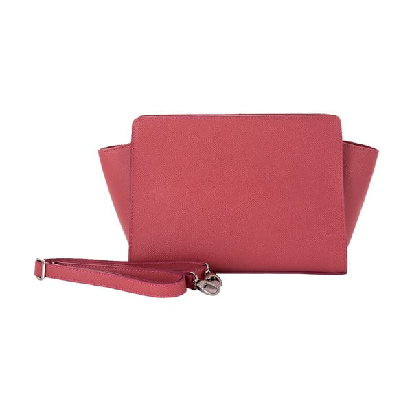 Skórzana torebka Andrea Cardone 2022 Pink