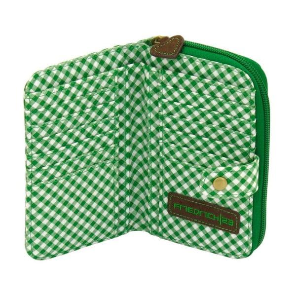 Portfel damski Bavaria Fitted Brown/Green