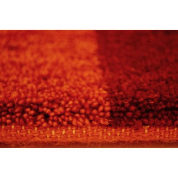 Dywan wełniany Baku Box Red, 70x140 cm