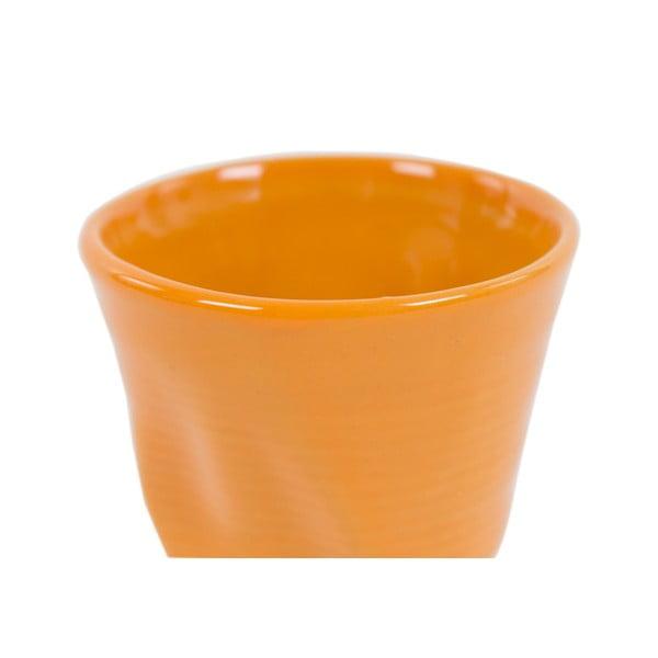 Komplet 6 kubków Kaleidoskop 110 ml, pomarańczowy