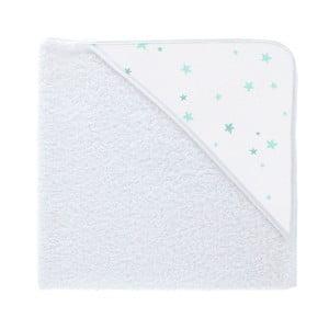 Ręcznik kąpielowy z kapturkiem Pooch Stars Azul, 82x75cm