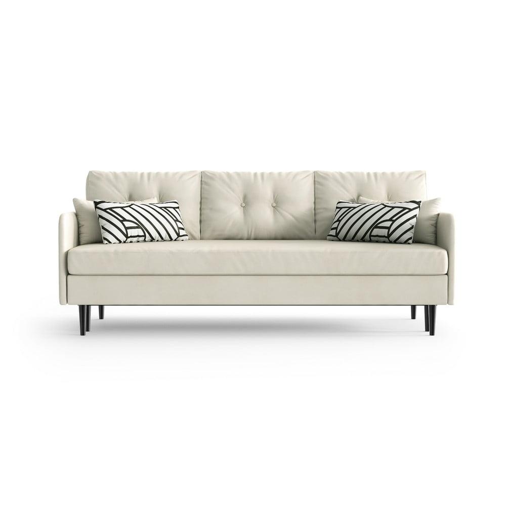 Biała rozkładana sofa Daniel Hechter Home Memphis