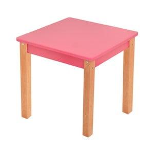 Różowy stolik dziecięcy Mobi furniture Mario