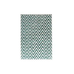 Dywan wełniany Ziggy Turquoise, 153x244 cm