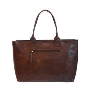 Skórzana torebka vintage Madam Rose, ciemna