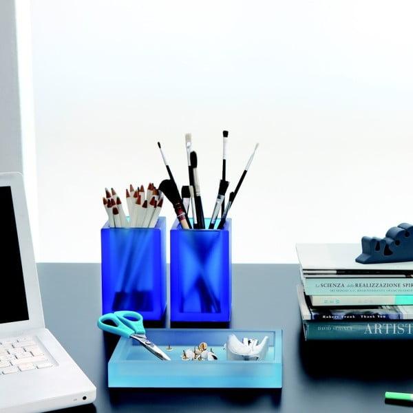 Niezniszczalny wazon Ivasi Medium, przejżyście niebieski
