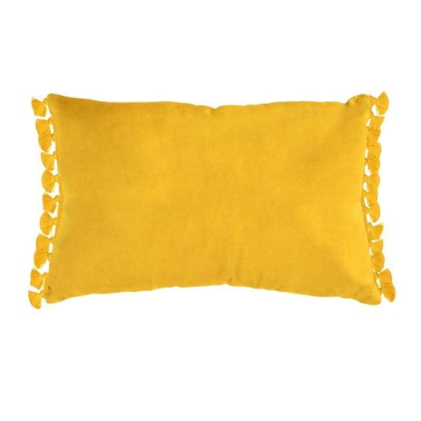 Żółta poduszka Ragged Rose Tassie