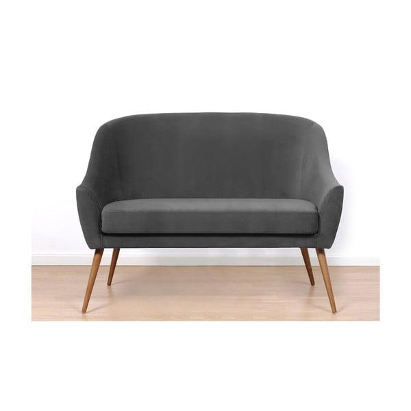 Ciemnoszara sofa Hawke&Thorn Herman