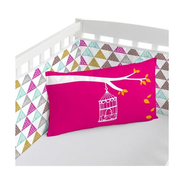 Ochraniacz do łóżeczka Birdcage, 60x60x60 cm