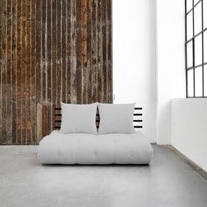 Sofa rozkładana Karup Shin Sano Black/Light Grey