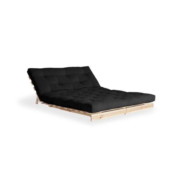Sofa rozkładana Karup Design Roots Raw/Dark Grey