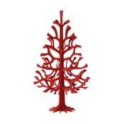 Składana dekoracja Lovi Spruce Bright Red, 60 cm