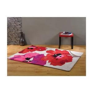 Dywan Bloom Red, 160x220 cm