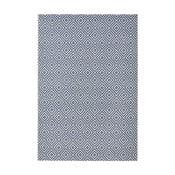 Niebieski dywan nadający się na zewnątrz Hanse Home Karo, 140 x 200 cm