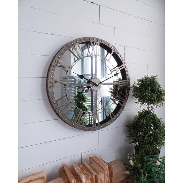 Zegar naścienny Industrial Mirror, 60 cm