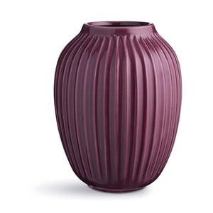 Bardzo duży fioletowy wazon Kähler Design Hammershoi