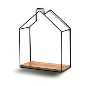 Półka ścienna Versa House Shape