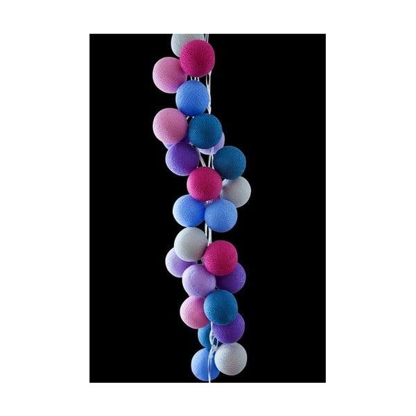 Girlanda świetlna Cotton Candy, 50 światełek