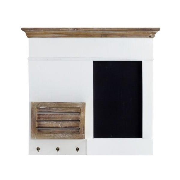 Organizer naścienny Charlston White, 68x62x8 cm