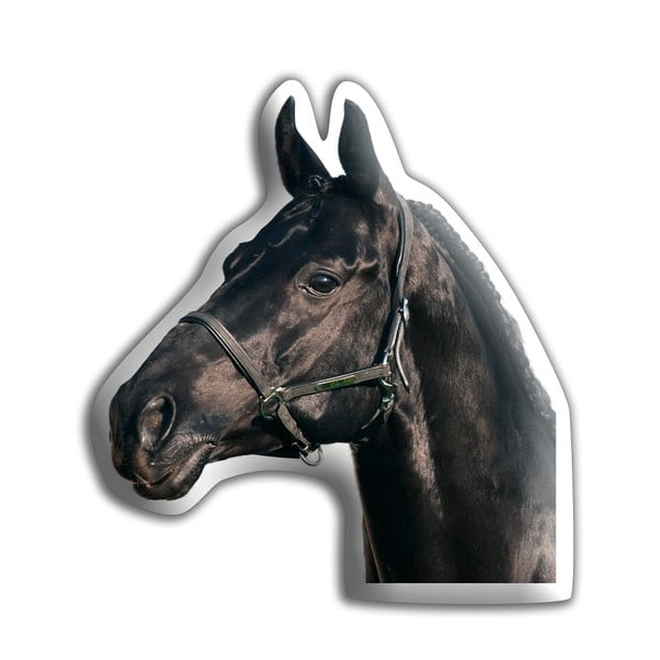 Poduszeczka Adorable Cushions Czarny koń