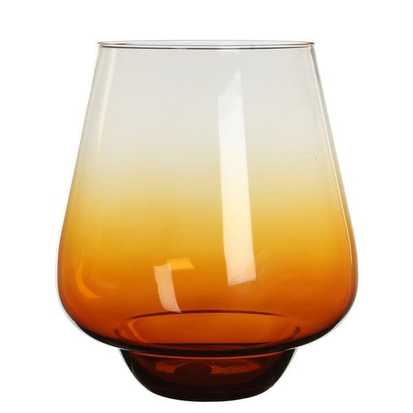 Świecznik/wazon Nolan Ochre, 25 cm