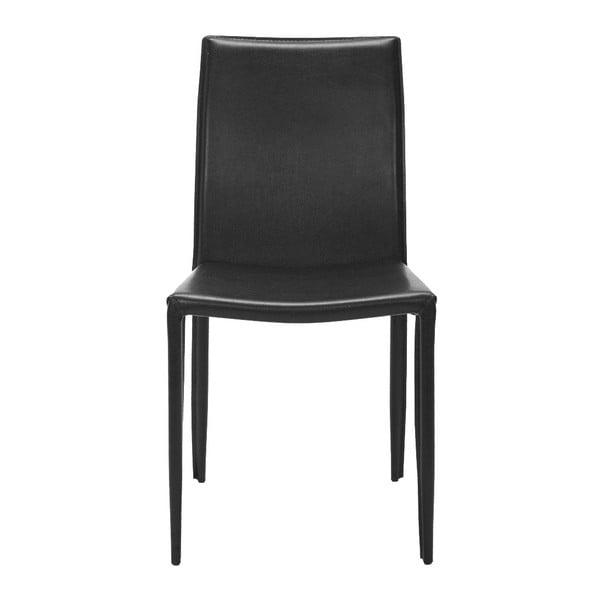 Zestaw 2 krzeseł Caleb Black