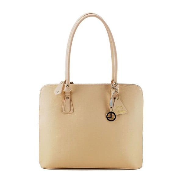 Skórzana torebka Crista Pink