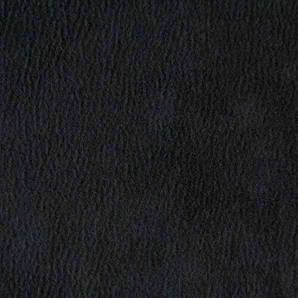 Sofa trzyosobowa Miura Munich, pokrycie czarne, zamszowe