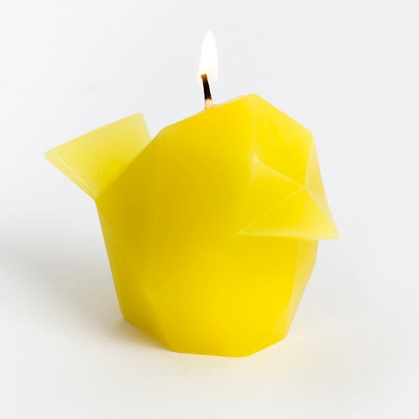Świeczka Pyropet Bíbí Yellow