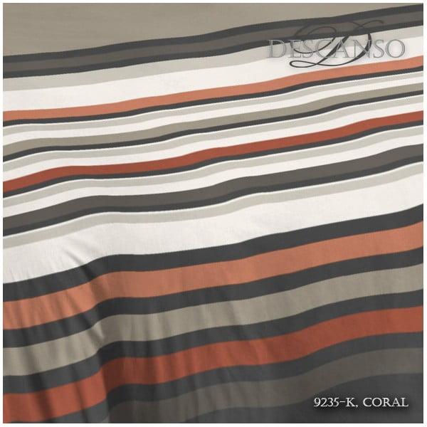 Pościel Descanso Coral Linen, 140x200 cm