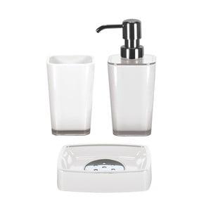 Zestaw akcesoriów łazienkowych Easy White