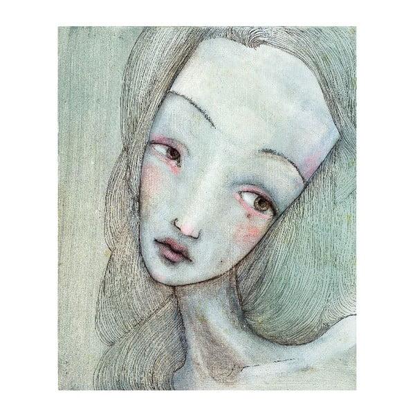 Plakat autorski: Léna Brauner Elżbieta 60x71 cm