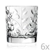 Zestaw 6 szklanek RCR Cristalleria Italiana Kaya, 300ml