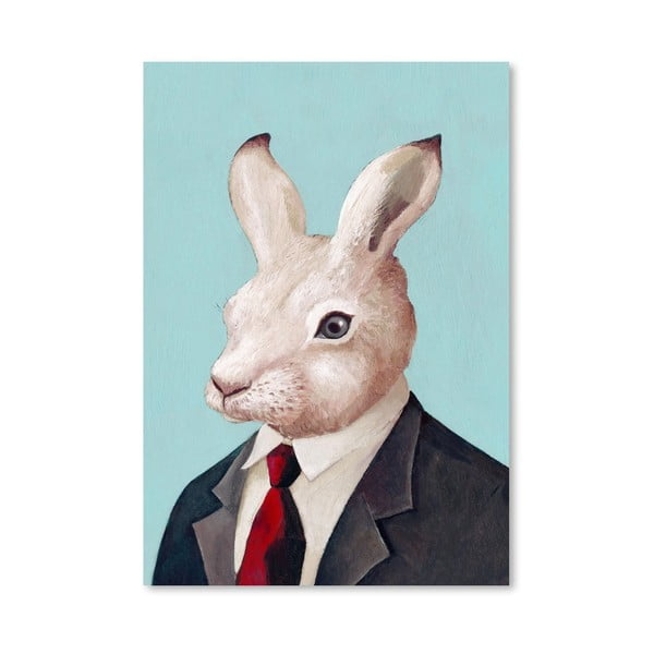 "Plakat ""Rabbit"", 30x42 cm"