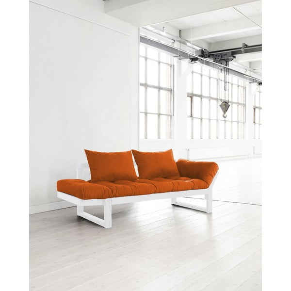 Sofa Karup Edge White/Orange