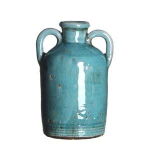 Wazon ceramiczny Sil Turquoise, 14x8 cm
