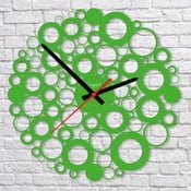 Zegar ścienny Green Bubble