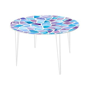 Stół do jadalni Stone Mosaic, 120 cm