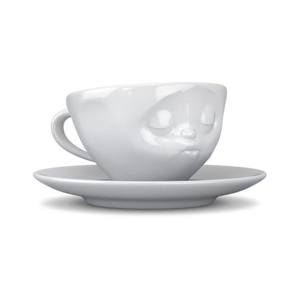 Biała całuśna filiżanka 58products