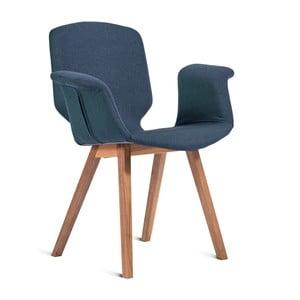 Niebieskie krzesło Charlie Pommier Tea