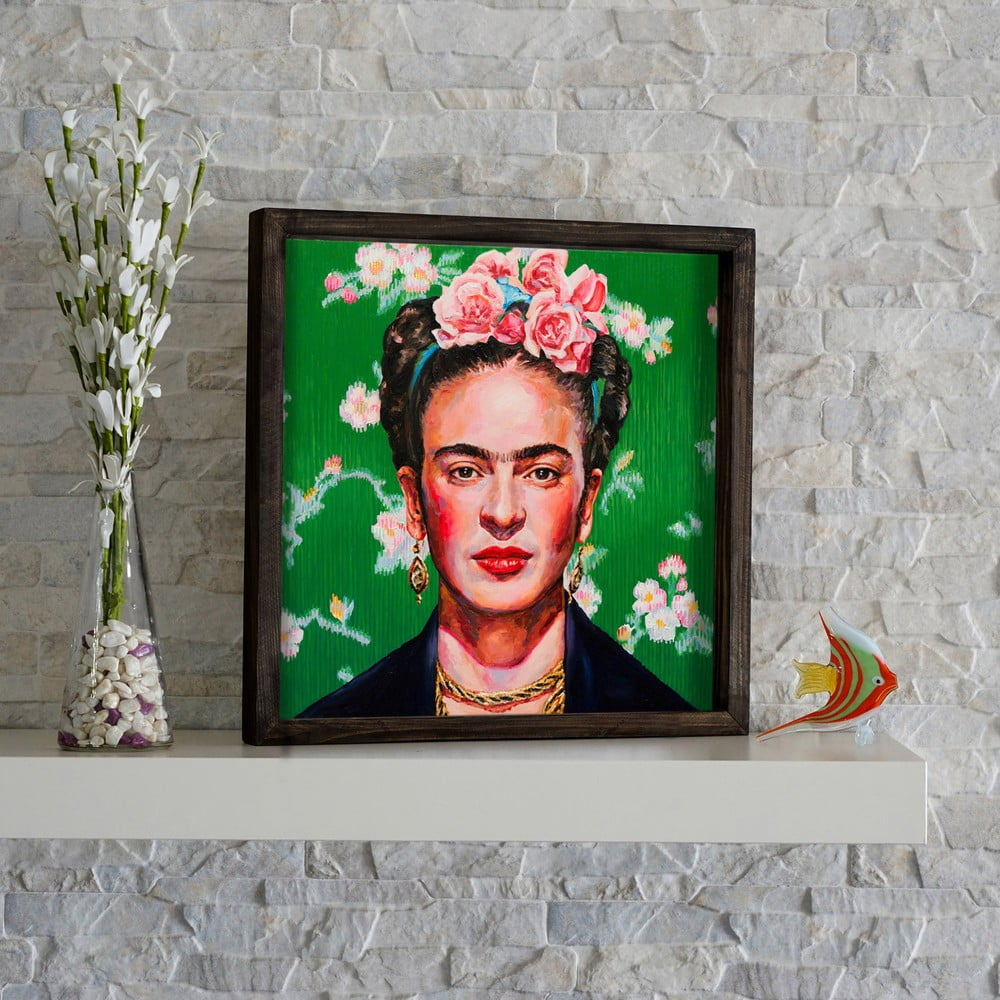 Obraz Frida Kahlo 34x34 Cm Bonami