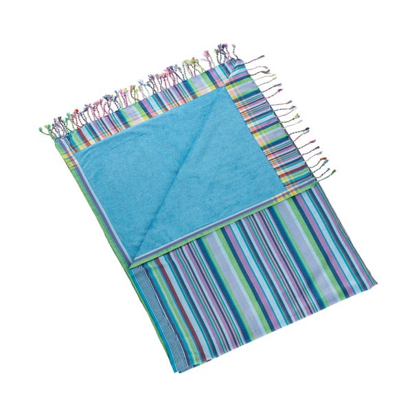 Ręcznik Inci Blue, 100x178 cm